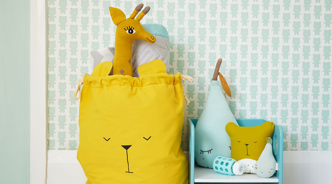 OYOY Giraffe and Fabelab Storage Bag