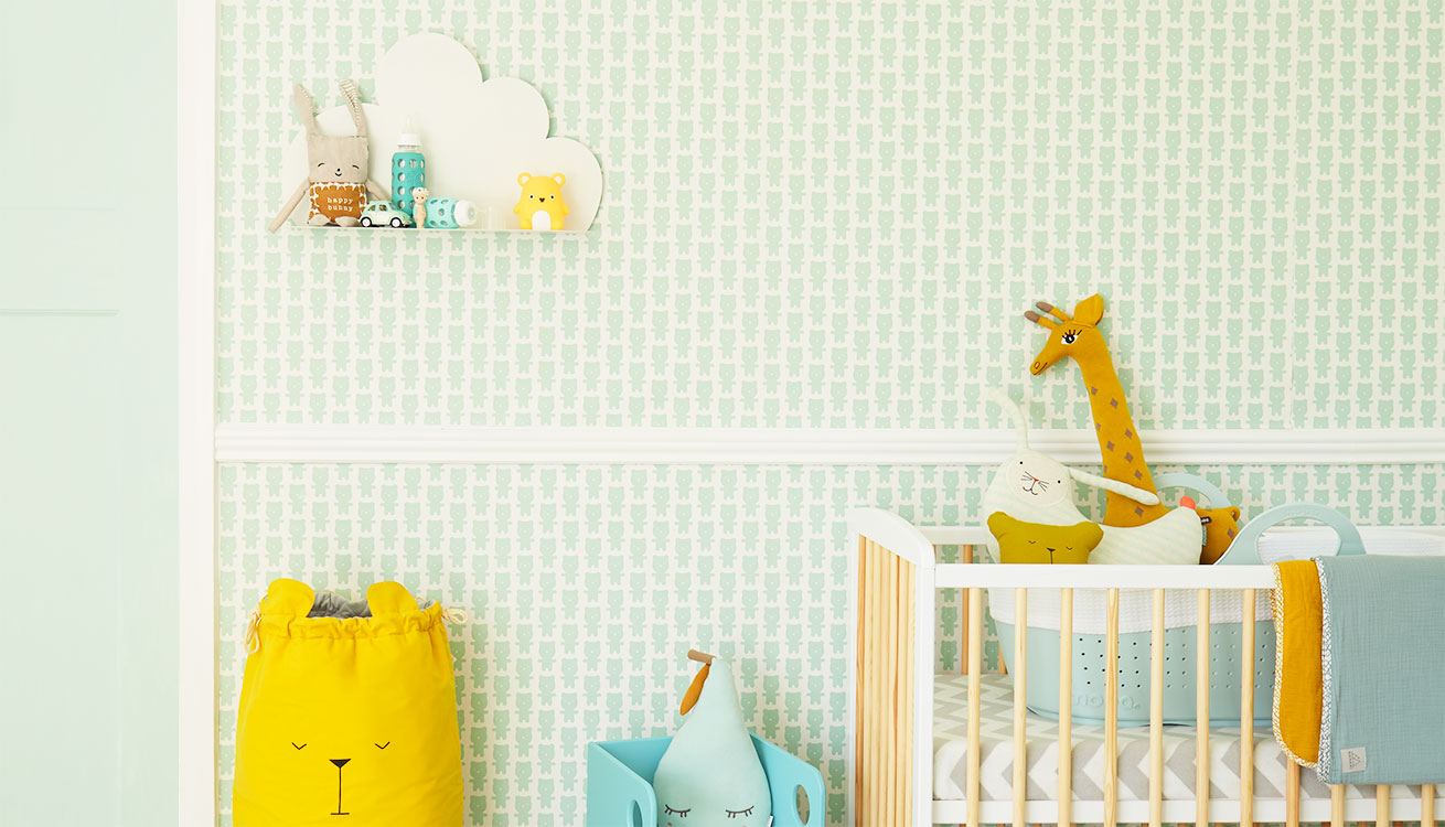 Create a mint and mustard nursery with our style hints and tips