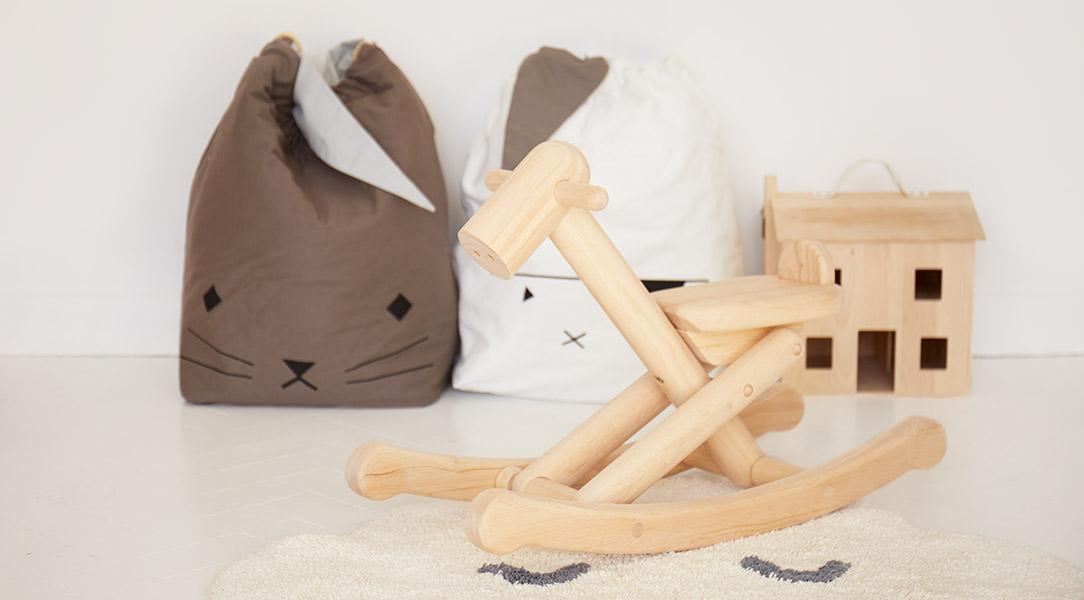 Add wood to create a woodland theme