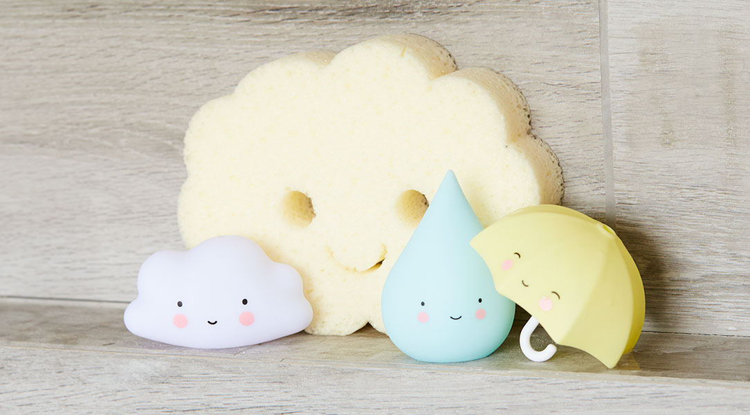 A Lovely Little Company Bath Toys keep babies amused