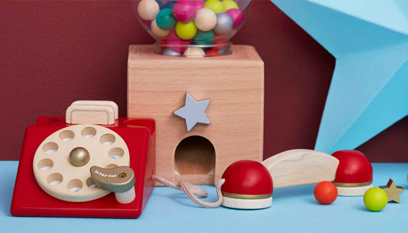 Unique gifts by Le Toy Van and Kiko+