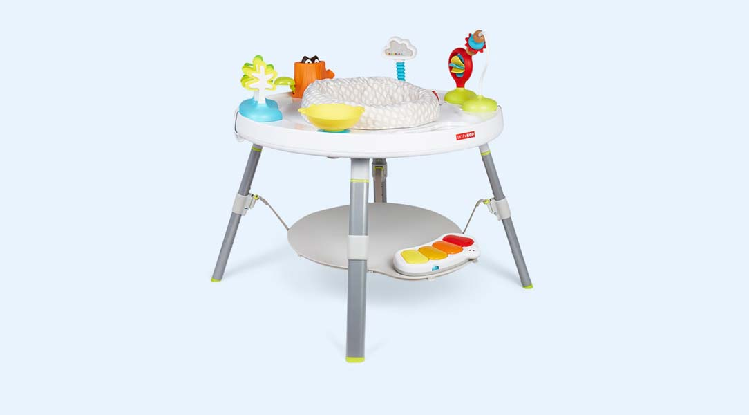 Develop kids' sensory skills with this cool Skip Hop activity table