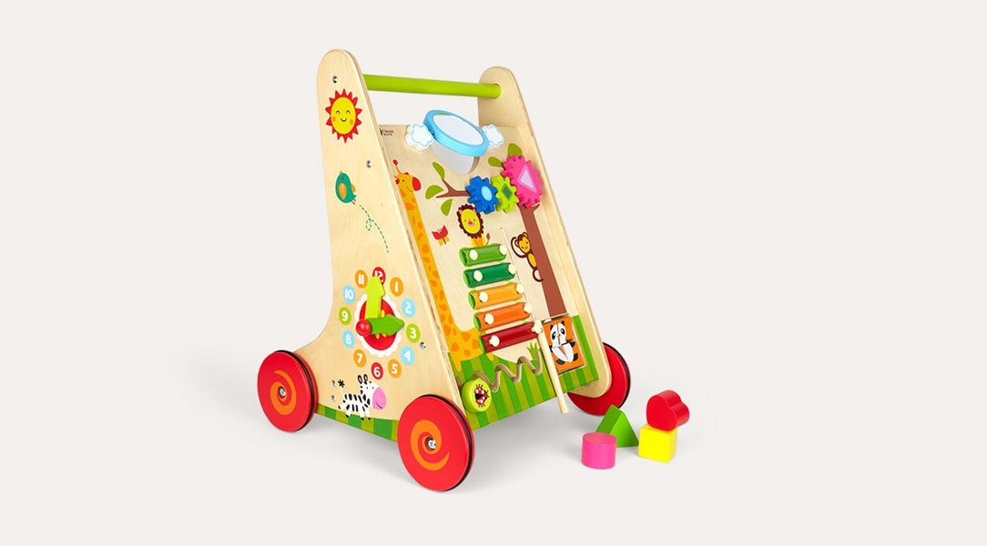 Help babies with their walking and balancing with this baby walker