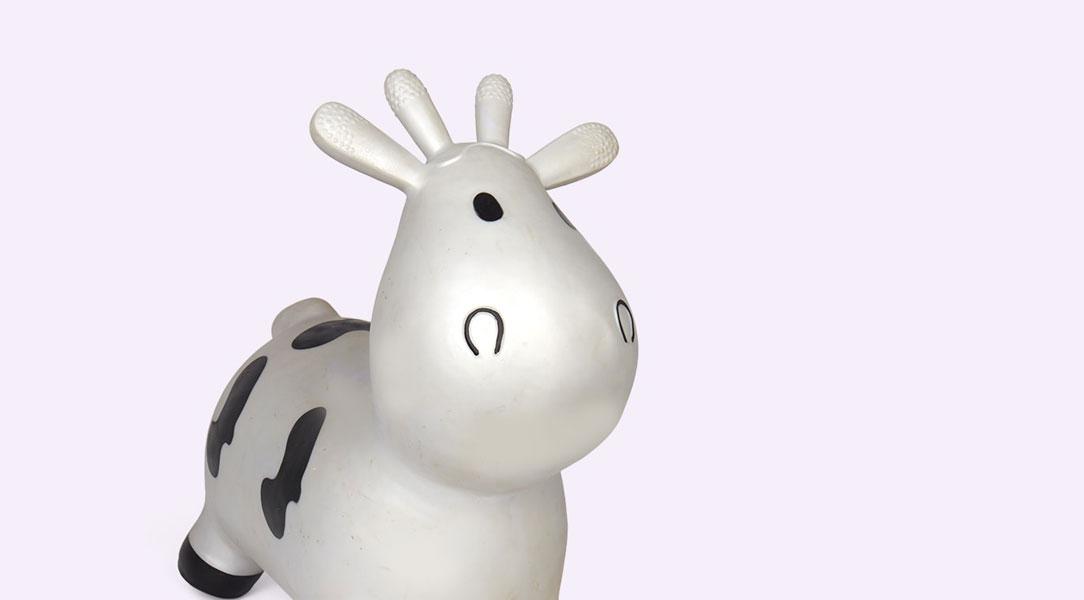 Happy Hopperz Small Cow Hopper