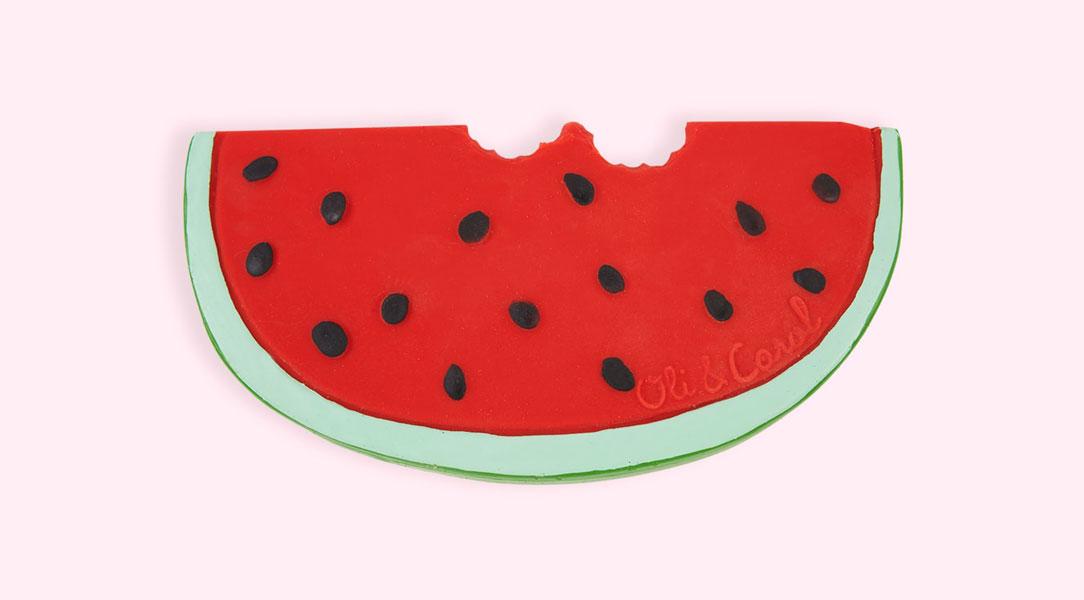 Oli & Carol Wally the Watermelon Teether