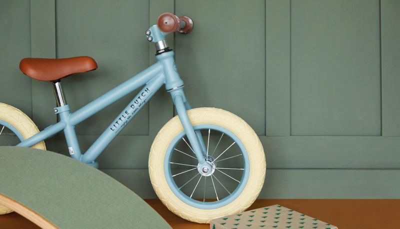 Little Dutch Balance Bike & a Wobbel board
