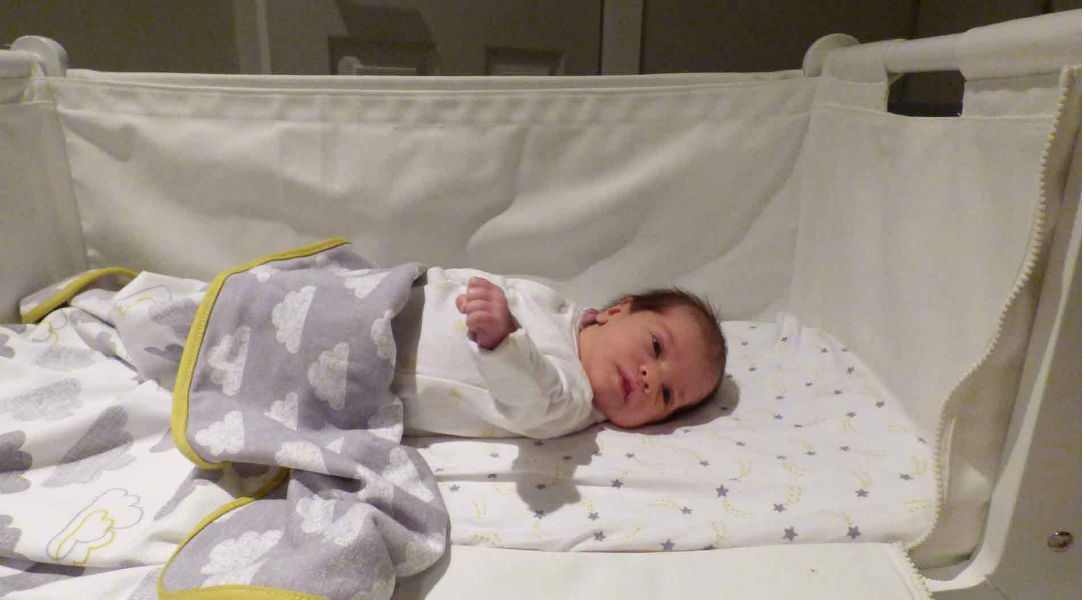 Tanya and Ruby love the SnuzPod2 3-in-1 Bedside Crib & Mattress