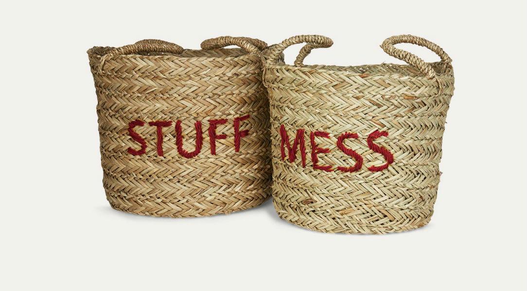 Kids Depot Mess/Stuff Storage Set