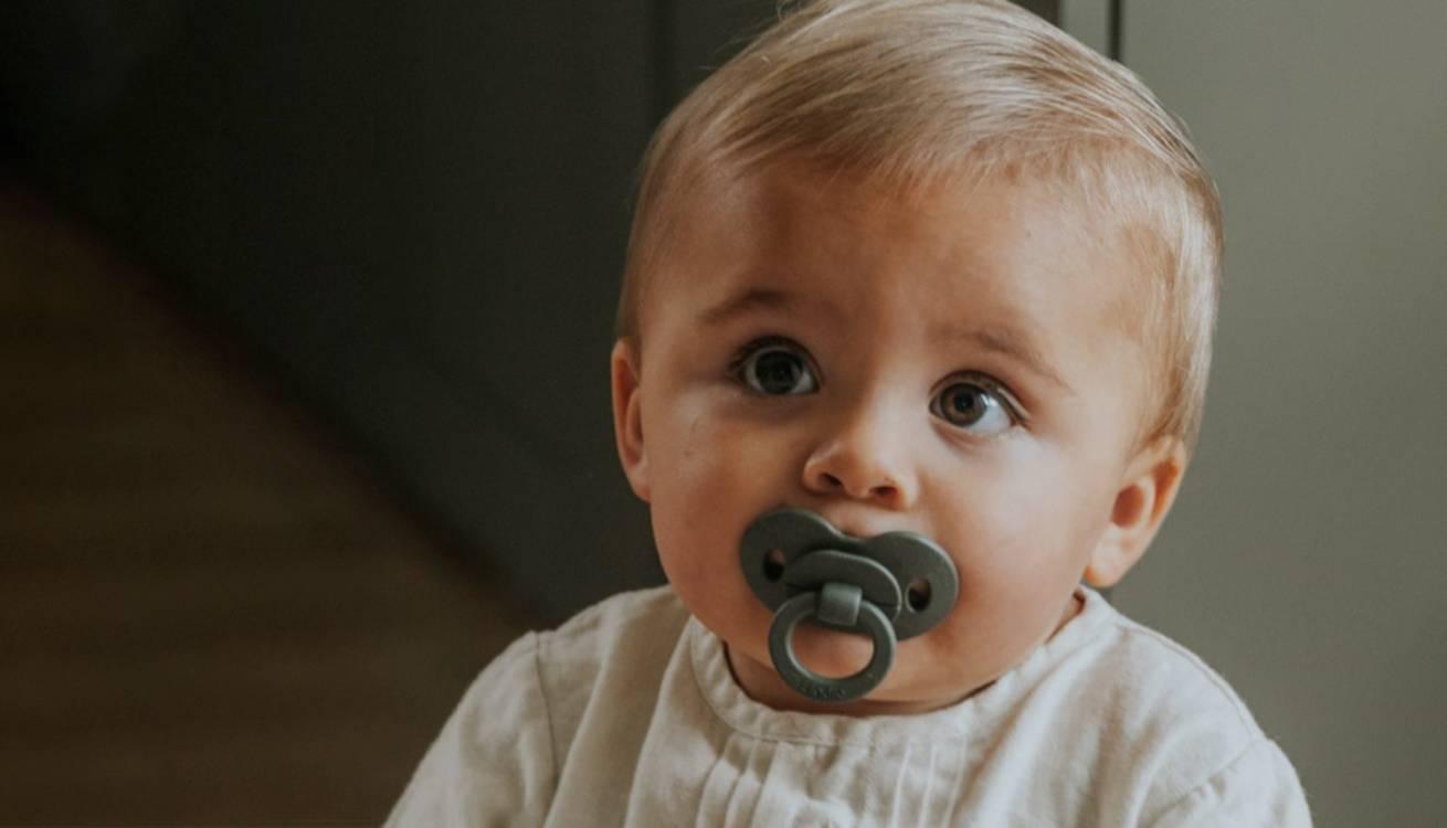 Little boy with Elodie Dummy