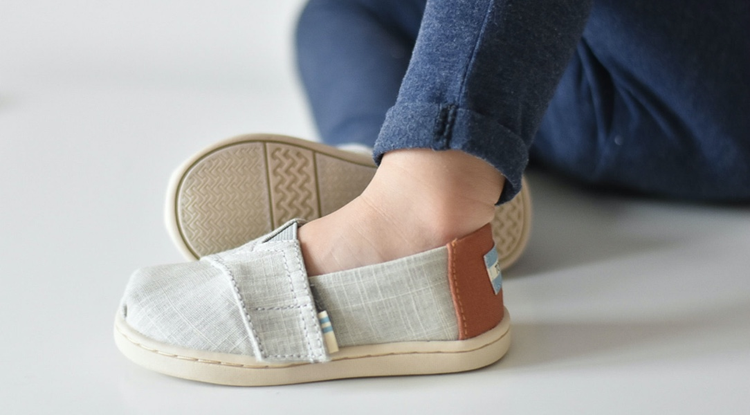 espadrille shoe in close-up