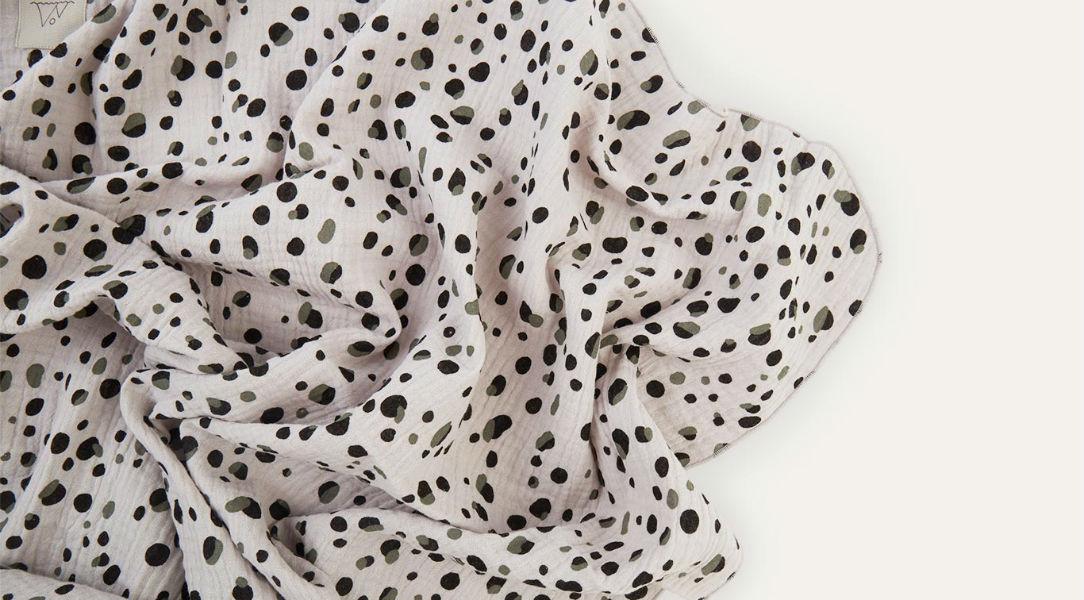 Nanami Pebble Print Swaddle Blanket