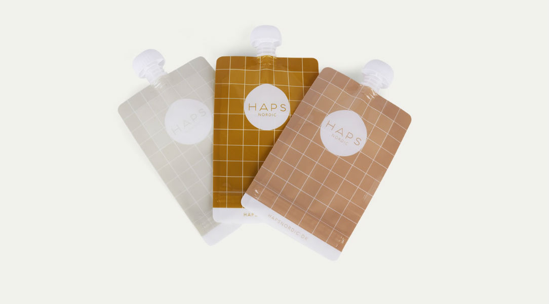 Haps Nordic Reusable Smoothie Bags