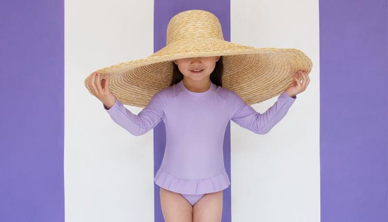 Penny models KIDLY Label Swimwear