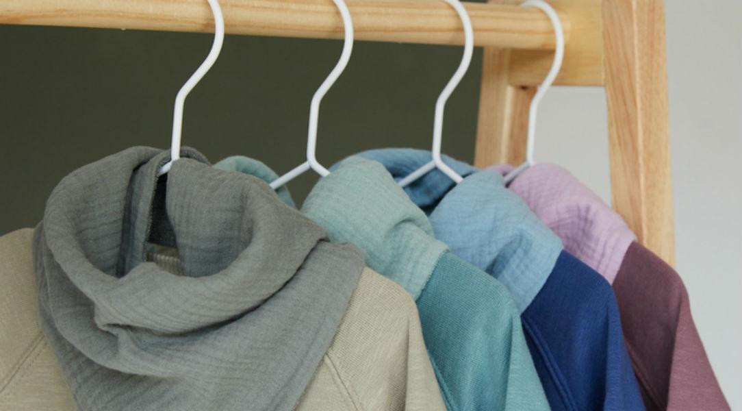 Organic Easy Sweatshirts and Brilliant bibs