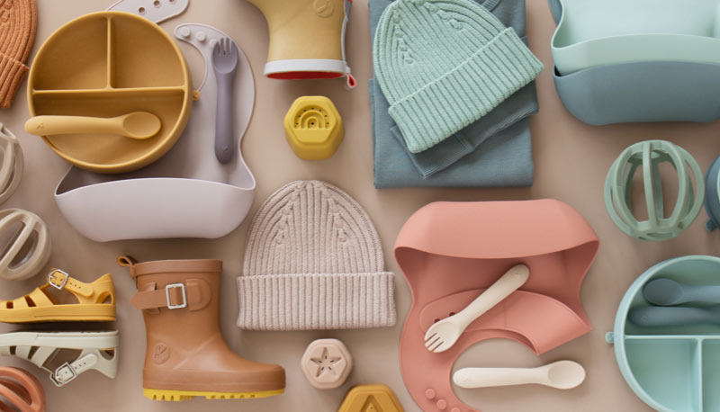 KIDLY Label clothing, footwear, feeding & toys ranges