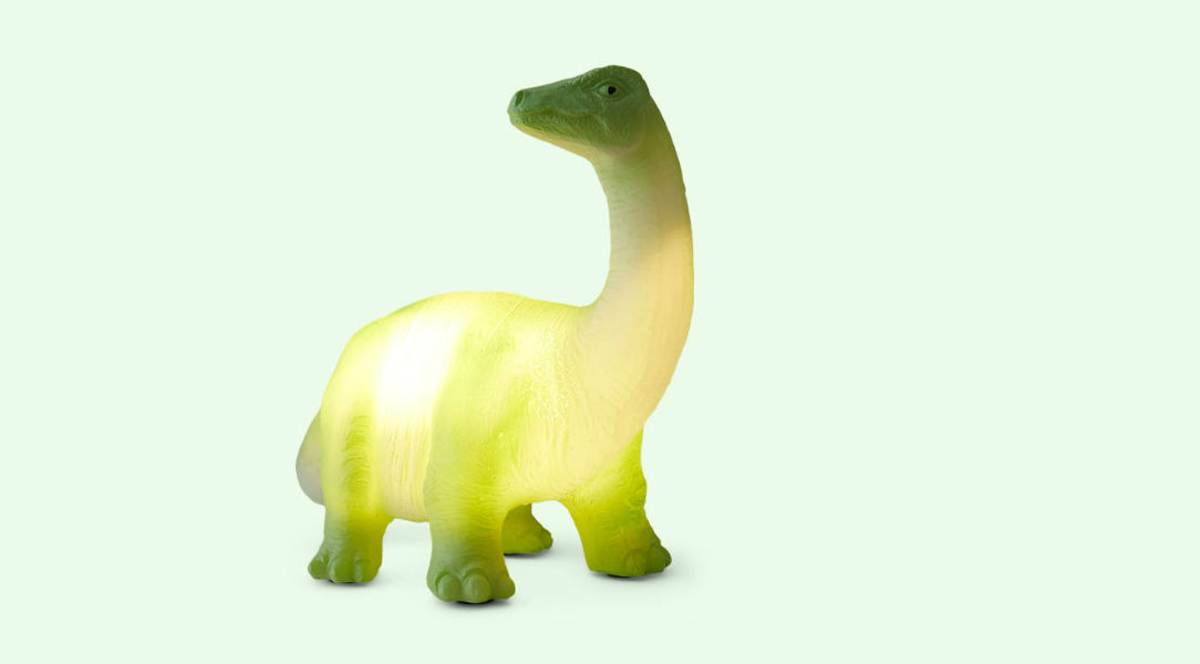 House of Disaster Dinosaur LED Lamp