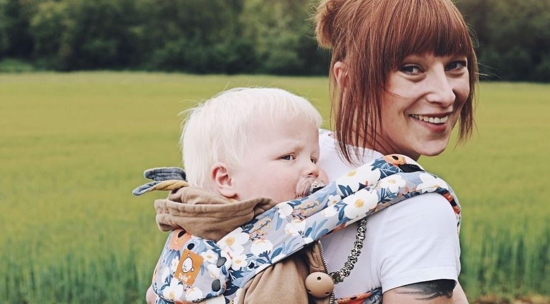 Malgorzata and her son