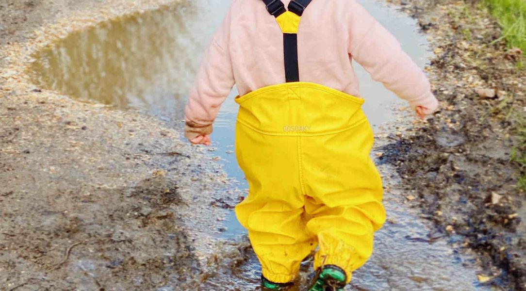 GO SOAKY Waterproof Dungarees