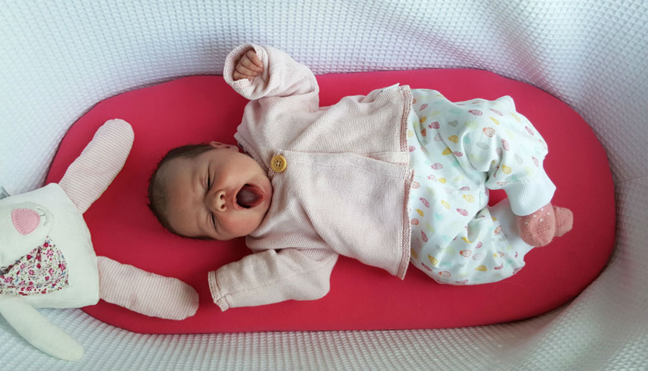 The Moba Moses basket is great as a baby's first cot