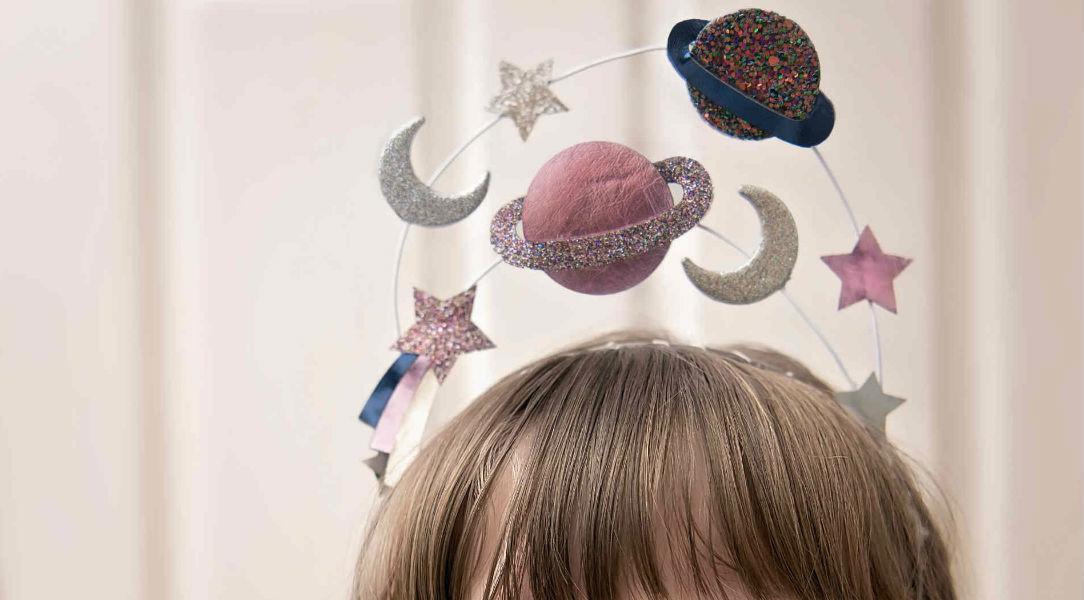 Mimi & Lula Solar System Headdress