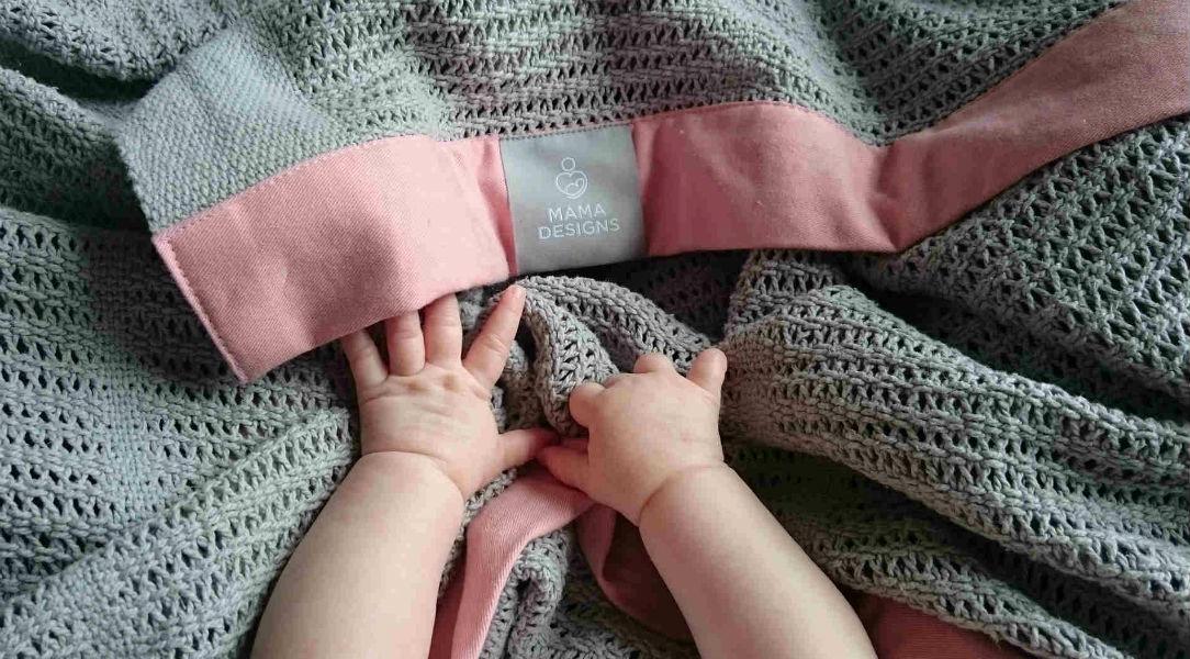 Mama Designs Cellular Blanket