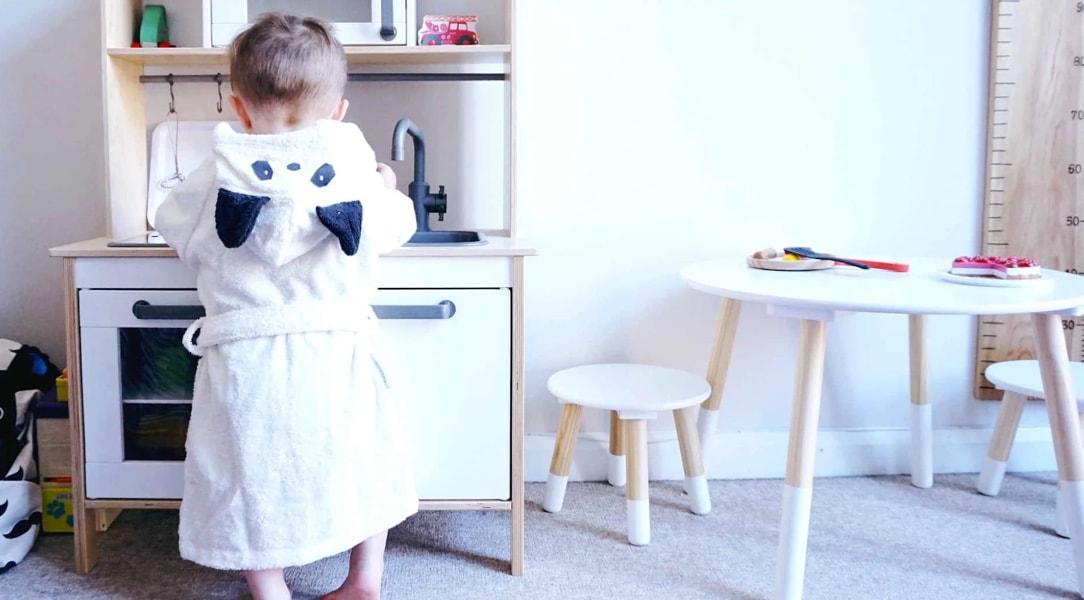 Liewood Panda Dressing Gown