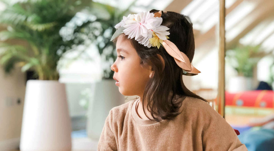 Meri Meri Pastel Blossom Headband