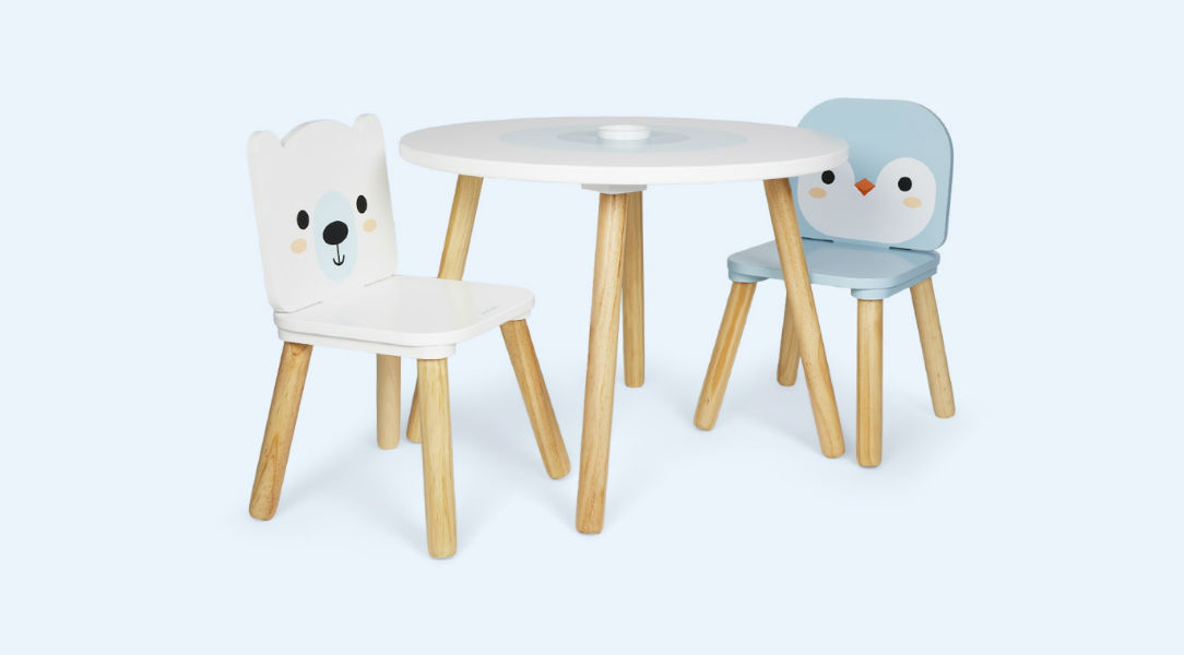 Janod Table & 2 Chairs